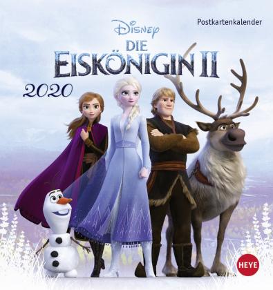 Die Eiskönigin 2 Postkartenkalender Kalender 2021