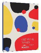 Creative Notes - 20 Notecards and Envelopes (Greeting Cards with Colorful Geometric Designs, Minimalist Everyday Blank Stationery