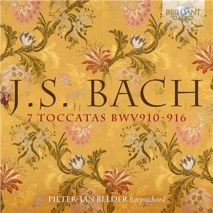 Johann Sebastian Bach (1685-1750) & Pieter-Jan Belder - 7 Toccatas Bwv 910-916