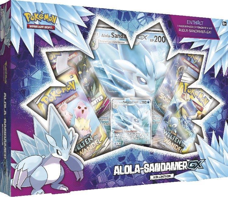 Pokémon (Sammelkartenspiel) - PKM Alola-Sandamer-GX Box deutsch