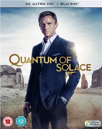 James Bond - Quantum Of Solace (2008) (4K Ultra HD + Blu-ray)