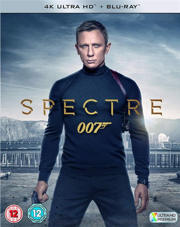 James Bond - Spectre (2015) (4K Ultra HD + Blu-ray)