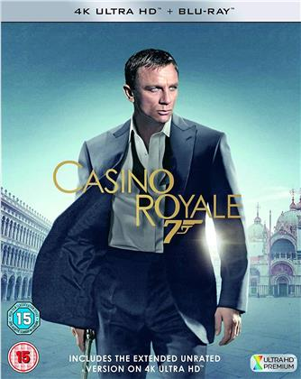 James Bond - Casino Royale (2006) (4K Ultra HD + Blu-ray)