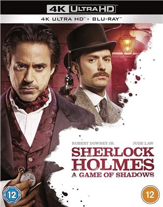 Sherlock Holmes 2 - A Game Of Shadows (2011) (4K Ultra HD + Blu-ray)
