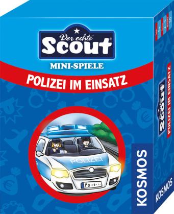Scout Minispiel (Kartenspiel) - Polizei im Einsatz