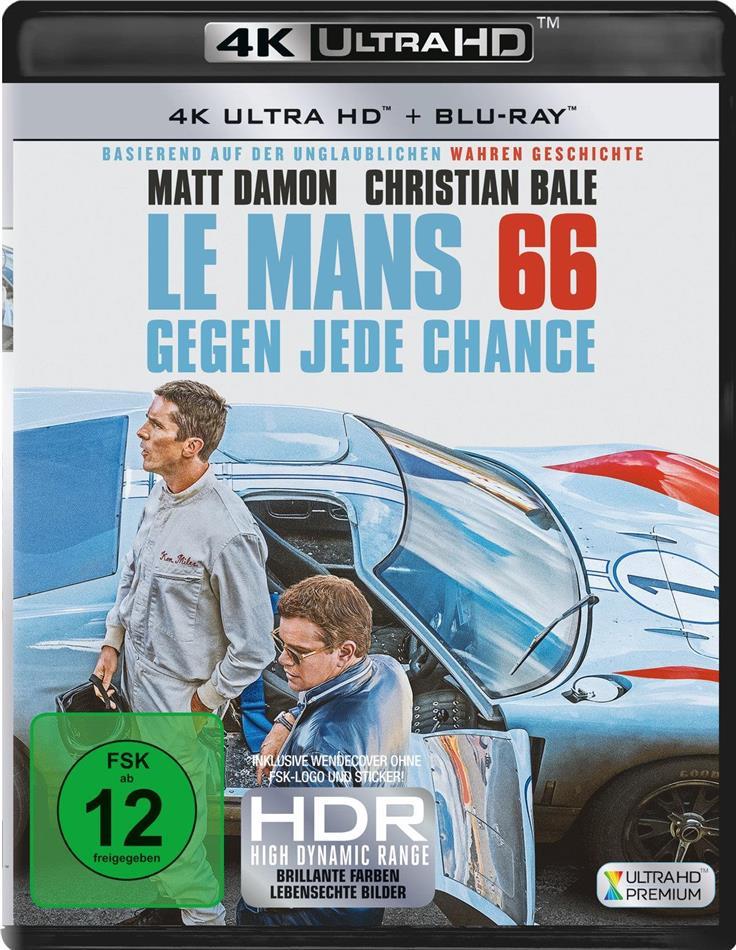 Le Mans 66 - Gegen jede Chance (2019) (4K Ultra HD + Blu-ray)