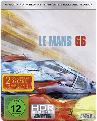Le Mans 66 - Gegen jede Chance (2019) (Limited Edition, Steelbook, 4K Ultra HD + Blu-ray)
