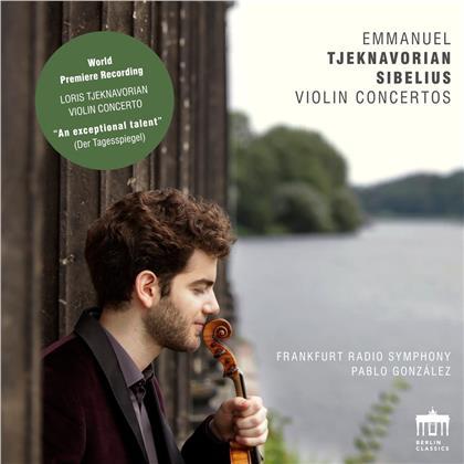 Loris Tjeknavorian (*1937), Jean Sibelius (1865-1957), Komitas Vardapet (1869-1935), Pablo Gonzalez, Emmanuel Tjeknavorian, … - Violin Concertos, Krunk