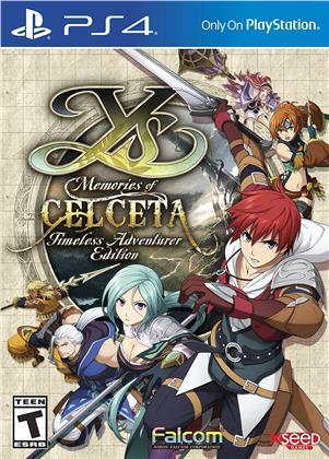 Ys: Memories Of Celceta - Timeless Adventure