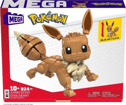 Mega Construx: Jumbo Evoli - Pokémon Bauset 830 Teile
