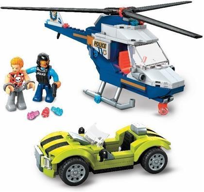 Mega Construx Polizeihubschrauber (252 Teile)