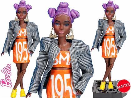 Barbie BMR1959 Karo-Blazer - Puppe, lilafarbene Haare