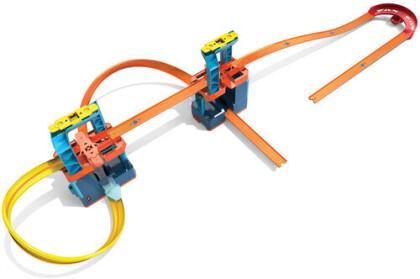 Track Builder Mega Beschleuniger Set - Hot Wheels Unlimited