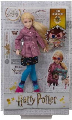 Harry Potter Luna Lovegood - Puppe 29 cm, Zauberstab,