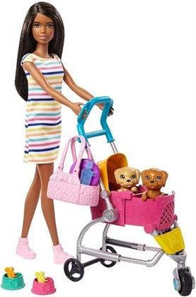 Barbie - Barbie Family Feature Pet African American