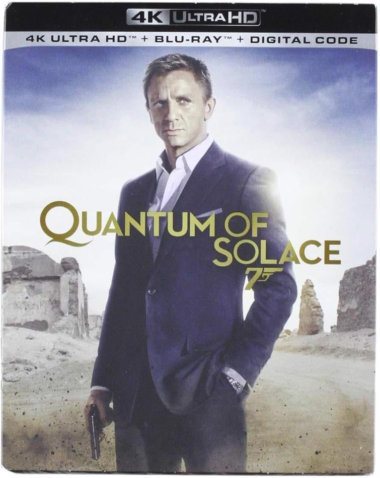 James Bond - Quantum Of Solace (2008) (4K Ultra HD + Blu-ray)