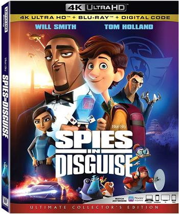 Spies In Disguise (2019) (4K Ultra HD + Blu-ray)