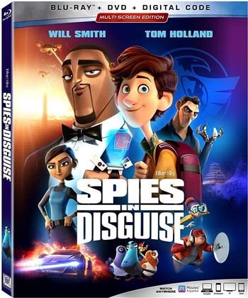 Spies In Disguise (2019) (Blu-ray + DVD)