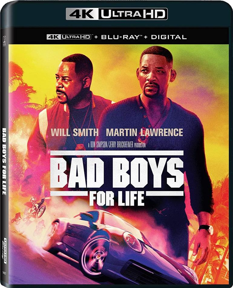 Bad Boys 3 - Bad Boys For Life (2020) (4K Ultra HD + Blu-ray)
