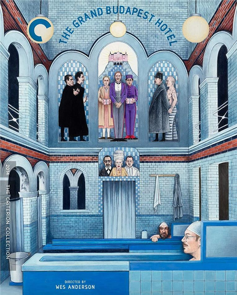 The Grand Budapest Hotel (2014) (Criterion Collection)