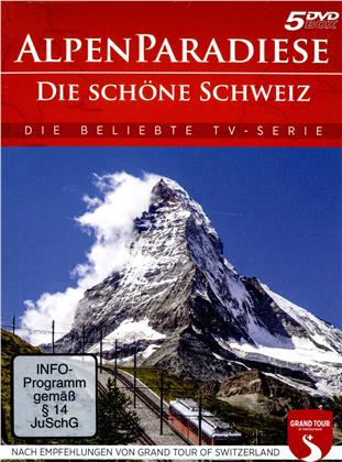 Alpenparadiese - Die schöne Schweiz (5 DVDs)