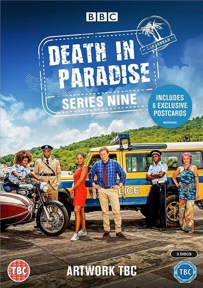 Death in Paradise - Series 9 (BBC, 3 DVD)