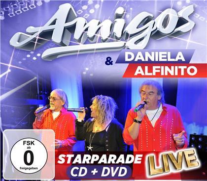 Amigos & Daniela Alfinito - Starparade Live (CD + DVD)