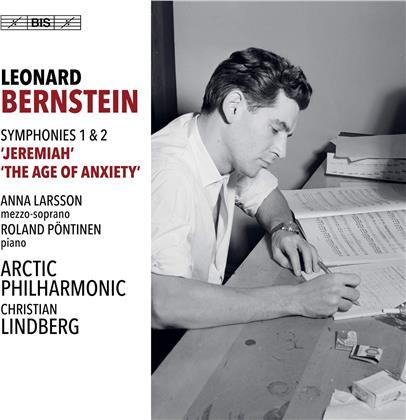 Leonard Bernstein (1918-1990), Christian Lindberg (*1958), Anna Larsson, Roland Pöntinen & Arctic Philharmonic - Symphonies 1 & 2 (Hybrid SACD)