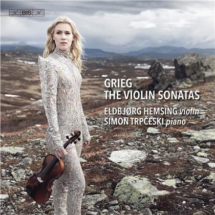 Edvard Grieg (1843-1907), Eldbjorg Hemsing & Simon Trpceski - Violin Sonatas (Hybrid SACD)