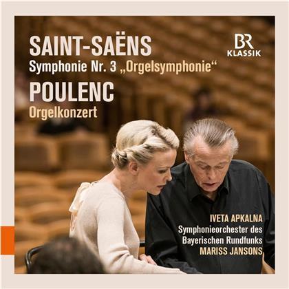 Camille Saint-Saëns (1835-1921), Francis Poulenc (1899-1963), Mariss Jansons, Iveta Apkalna & Symphonieorchester des Bayerischen Rundfunks - Symphony 3 In C Minor