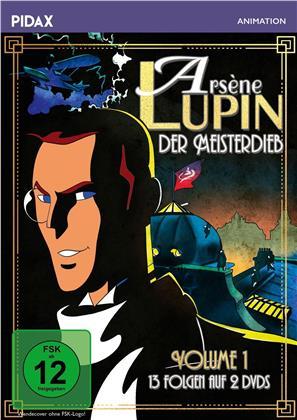 Arsène Lupin - Der Meisterdieb - Vol. 1 (Pidax Animation, 2 DVDs)