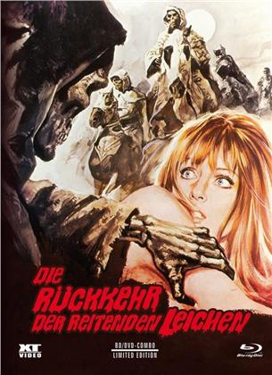 Die Rückkehr der reitenden Leichen (1973) (Cover A, Limited Edition, Mediabook, Blu-ray + DVD)