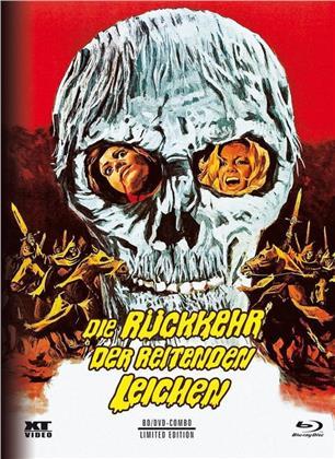 Die Rückkehr der reitenden Leichen (1973) (Cover B, Limited Edition, Mediabook, Blu-ray + DVD)