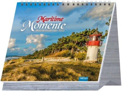 "Wochenkalender ""Maritime Momente"" 2021"