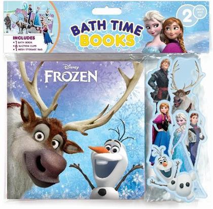 Eiskönigin 2 - Badebuch + 6 Spielfiguren + 1 Aufbewahrungsnetz
