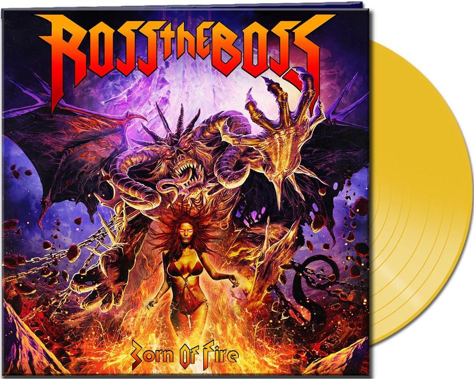 Ross The Boss (Ex-Manowar) - Born Of Fire (Limited Gatefold, Clear Yellow Vinyl, LP)