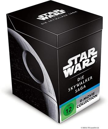 Star Wars: Episode 1-9 - Die Skywalker Saga (18 Blu-rays)