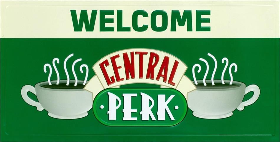 Friends - Friends (Welcome To Central Perk) Metal Sign