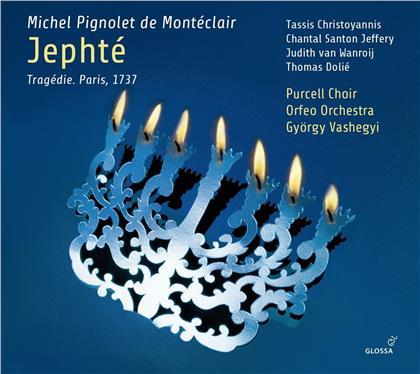 Michel Pignolet de Montéclair, György Vashegyi, Tassis Christoyannis, Chantal Santon Jeffery & Orfeo Orchestra - Jephte