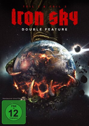 Iron Sky (2012) / Iron Sky: The Coming Race (2019) (Double Feature, 2 DVDs)