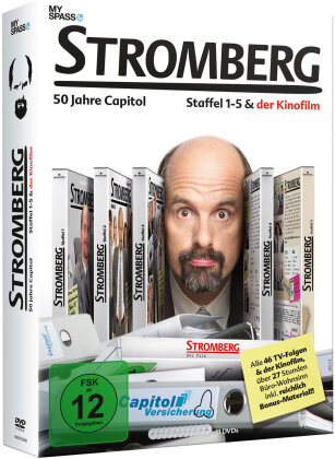 Stromberg - Staffel 1-5 + Film (11 DVDs)