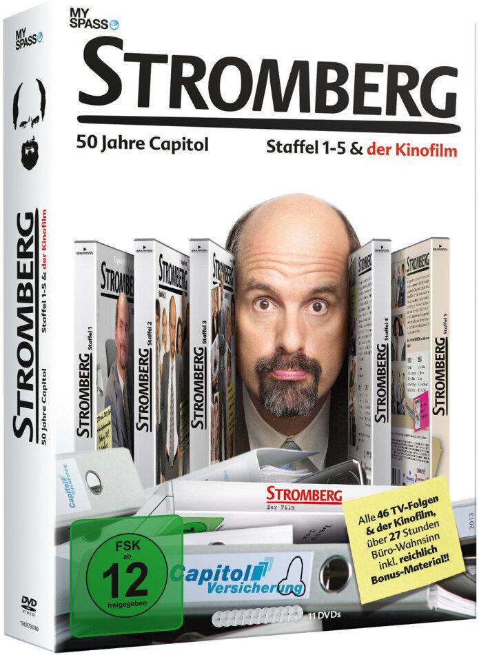 Stromberg - Staffel 1-5 + Film (11 DVDs)
