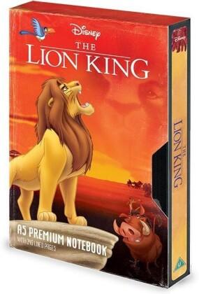 The Lion King VHS - A5 Premium Notizbuch