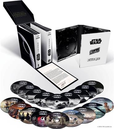 Star Wars: Episode 1-9 - La Saga Skywalker (18 Blu-rays)