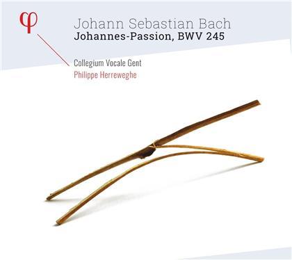 Johann Sebastian Bach (1685-1750), Philippe Herreweghe & Collegium Vocale Gent - Johannes-Passion Bwv 245 (2 CDs)