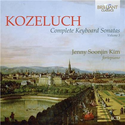 Leopold Anton Kozeluch (1747-1818) & Jenny Soonjin Kim - Complete Keyboard Sonatas Vol. 3 (4 CDs)