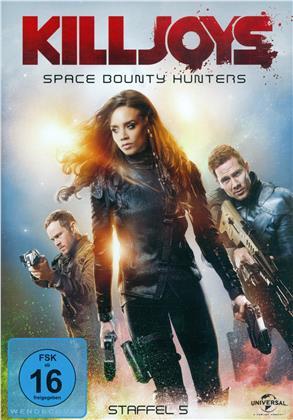 Killjoys - Space Bounty Hunters - Staffel 5 - Die finale Staffel (3 DVDs)