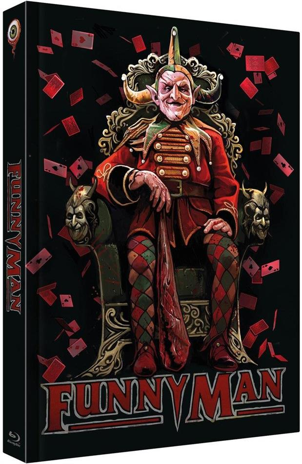 Funnyman (1994) (Cover C, Limited Collector's Edition, Mediabook, Blu-ray + DVD + CD)