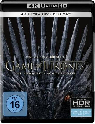 Game of Thrones - Staffel 8 (3 4K Ultra HDs + 3 Blu-rays)