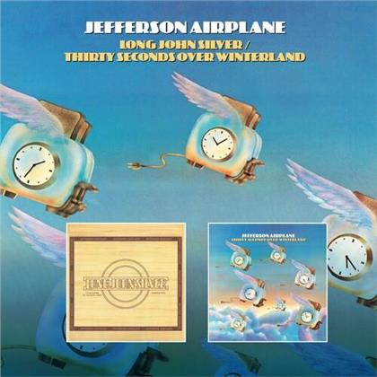 Jefferson Airplane - Long John Silver / Thirty Seconds Over Winterland (Remastered, 2 CDs)
